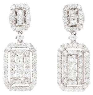 1.84ctw 1.84CTW DIAMOND HALO EARRINGS