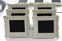 20 Ivory Vintage Style Frames Table Numbers Photo