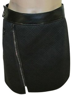 3.1 Phillip Lim Embossed Zip Skirt Black