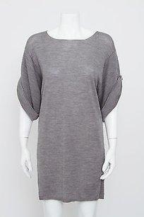 3.1 Phillip Lim short dress Gray Embellished on Tradesy