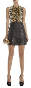 3.1 Phillip Lim Leopard Leather Zipper Dress