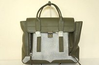 3.1 Phillip Lim Pashli Colorblock Tote in Green