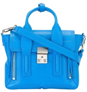 3.1 Phillip Lim Pashli Mini Cobalt Satchel in Cyan Blue