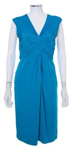 3.1 Phillip Lim Silk Mother Of The Bride Sleeveless Sheer Ruched Dress
