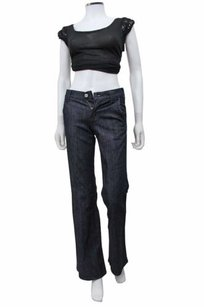 7 For All Mankind Dark Flare Leg Jeans