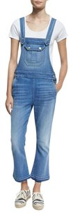 7 For All Mankind Overalls Cropped Boot Cut Pants Delphi Beach