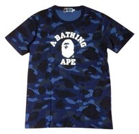 A Bathing Ape T Shirt Blue
