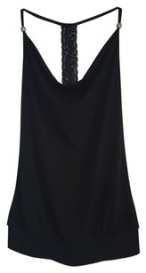 A. Byer Date Evening Top Black