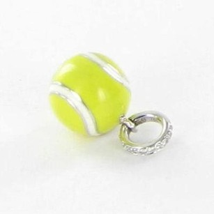 Aaron Basha Aaron Basha Ba8ywa Yellow Tennis Ball 0.01cts Diamonds 18k White Gold
