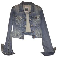 Abercrombie & Fitch Abercrombieandfitch Cropped Womens Jean Jacket