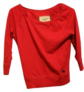 Abercrombie & Fitch red Halter Top