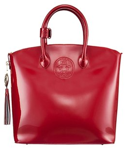 Abigail Riggs Tote in Red