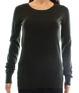 Boat Neck Cotton Blends Sweater