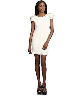 A.B.S. by Allen Schwartz short dress Vanilla Sateen on Tradesy