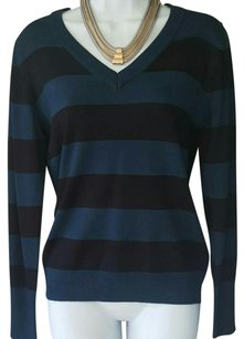 Active Basic Top Blue and black