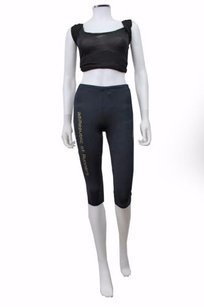 adidas Adidas Climalite Athletic Crop Pants Tights Running Black