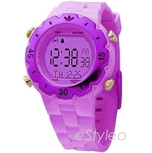 adidas Adidas Digital Watch Chronograph Purple Retro Adh6085