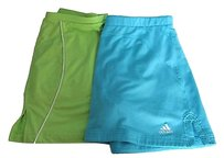 adidas Tennis Skirts Lot Womens Smmed Adidas Athletic Works Blue Green