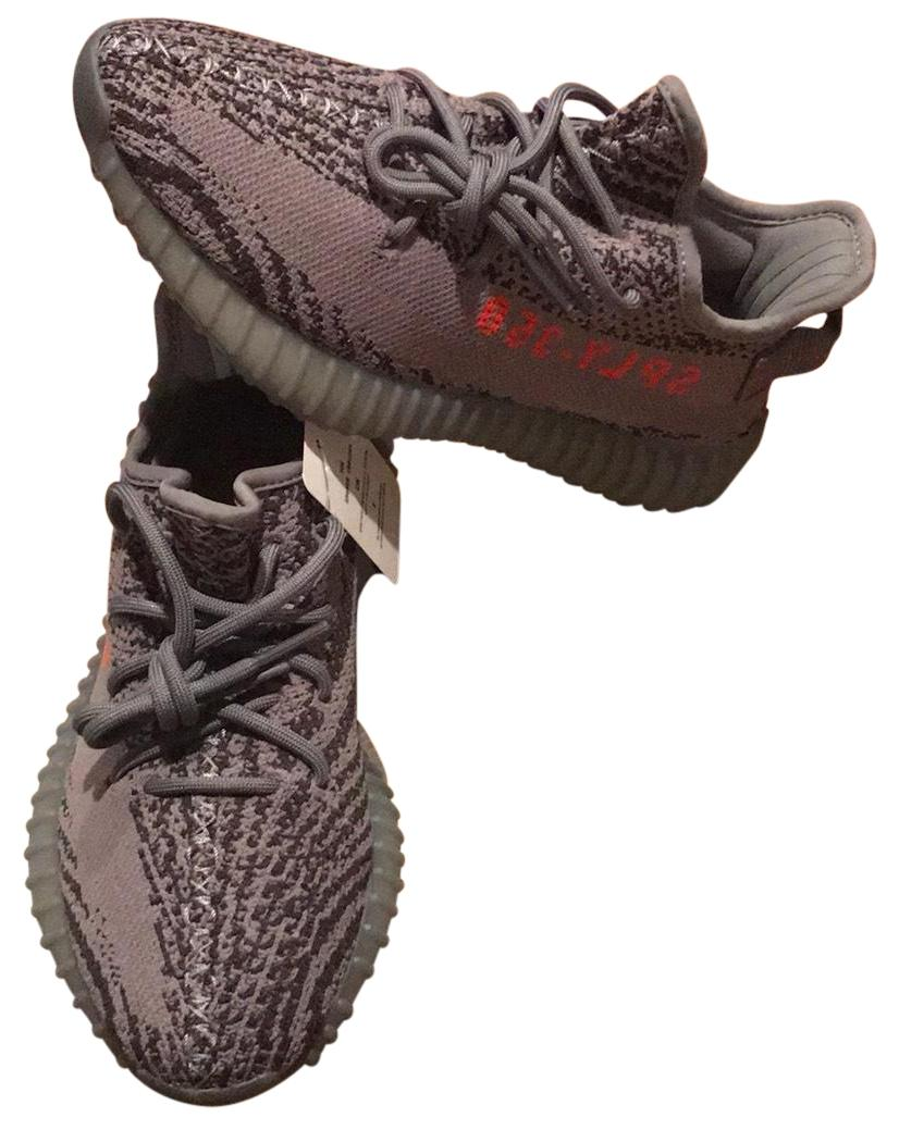 06d6853957abf adidas X X X Yeezy Gray Boost 350 V2 Beluga 2.0 Men Sneakers Size US 5.5  Regular (