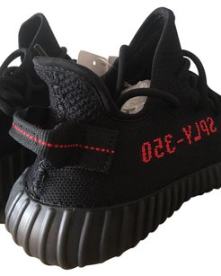 adidas Yeezy Yeezyboost 350 Yeezy Boost Boost Black Red Athletic