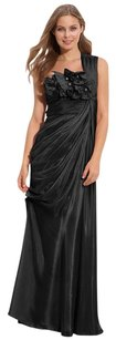 Adrianna Papell One-shoulder Gown Dress