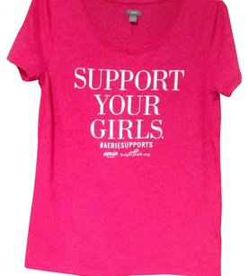 Aerie T Shirt Bright Pink