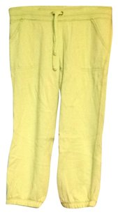 Aerie Capris Lime Green and Orange