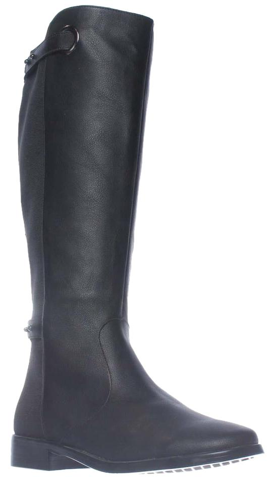 Aerosoles Black One Knee-high Wish Expandable Calf Knee-high One Riding Boots/Booties Size US 7.5 Regular (M, B) ad6f45