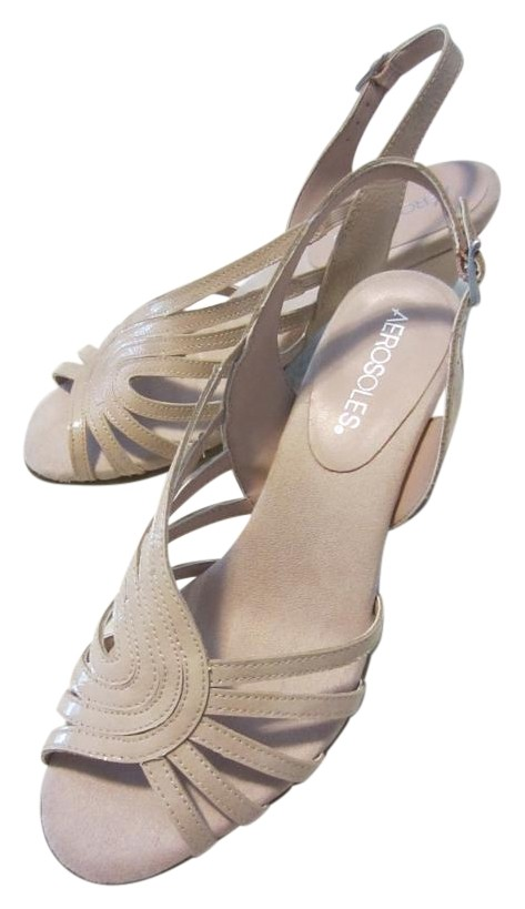 d67d8d1591dd Aerosoles Blush Blush Blush (Soft Pink) Fresco Sandals Size US 7.5 Regular ( M