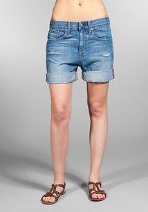 AG Adriano Goldschmied Jeans Cut Off Shorts Blue