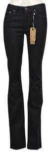 AG Adriano Goldschmied Carly Womens Blue Dark Wash Pants Flare Leg Jeans