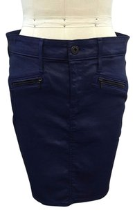 AG Adriano Goldschmied Skirt Navy
