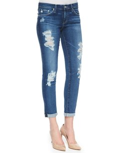 AG Adriano Goldschmied Blue Skinny Jeans