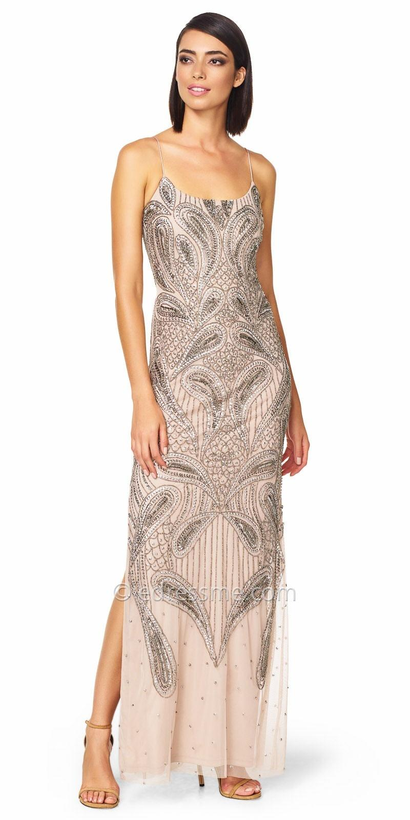 Aidan Mattox Beaded Gown – Dresses for Woman