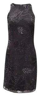 Aidan Mattox Beaded Sleeveless Sheath 230413st Dress