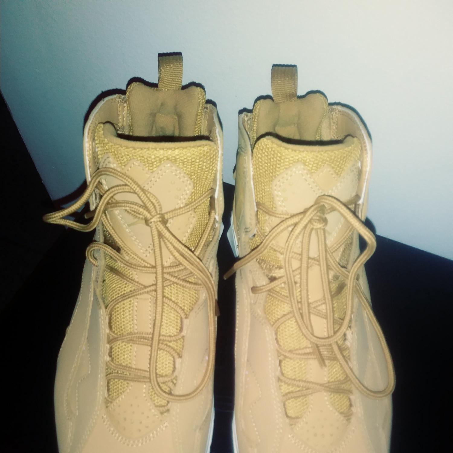 89affa476fe ... best price air jordan golden wheat true flight sneakers size us 9.5  regular m b tradesy 494a7