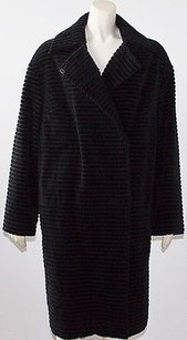 Akris Punto 100 Exaggerated Wide Wale Corduroy Winter Coat