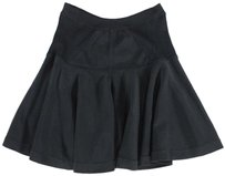 A.L.C. Black Knit Shn Skirt