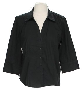 A.L.C. Button Down Shirt Black
