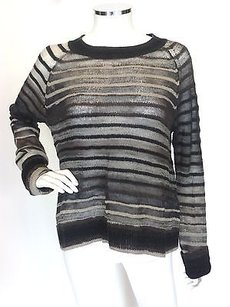A.L.C. Alc Striped Med Sweater