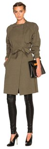 A.L.C. Alc Khaki Army Belted Ethan Trench Jacket 6m Trench Coat