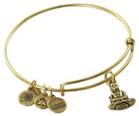 Alex and Ani Alex And Ani A11eb106rg Buddha Expandable Ewb Bracelet Russian Gold