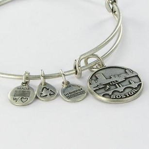 Alex and Ani Alex Ani Boston Skyline Charm Expandable Ewb Bracelet Russian Silver