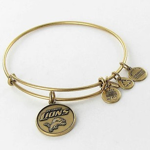 Alex and Ani Alex Ani Detroit Lions Nfl Expandable Ewb Bracelet Russian Gold