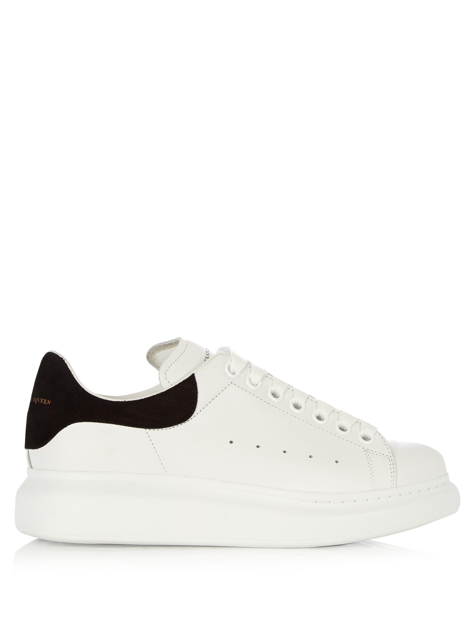 Alexander McQueen Black/White 38 Oversized Sneakers Tail Low-top Platform Sneakers Size US 8 Regular (M, B)