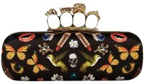 Alexander McQueen Knuckleduster Obsession Ss17 Offtherunway Black Clutch