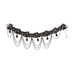 Alexia Crawford Lace Chain Draped