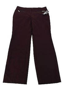 Alfani 10p Womens Wine Straight Leg Jeans