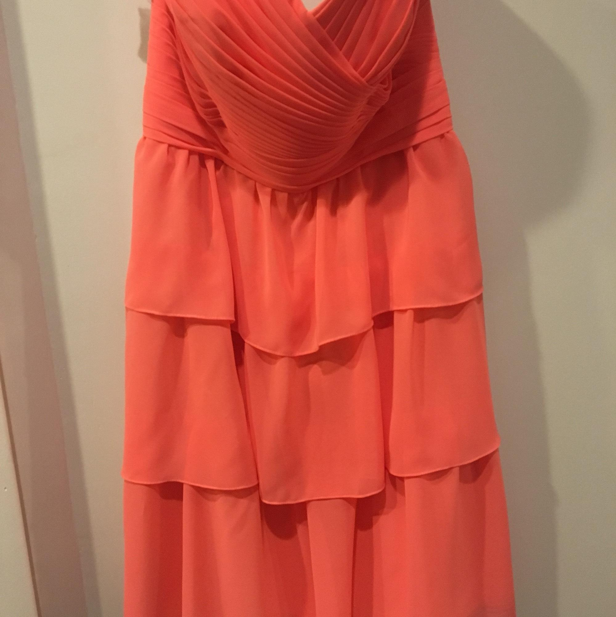 Alfred Angelo Bridesmaids in Salmon