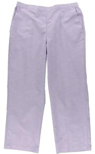 Alfred Dunner Trouser Pants Lilac